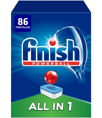 FINISH PASTILLAS TEN1 86 UD.